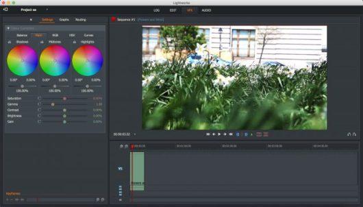 Free Video Editors: Lightworks
