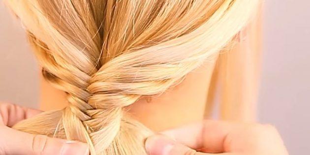 نگه داشتن بافندگی تا زمانی که شما جمع آوری تمام مو