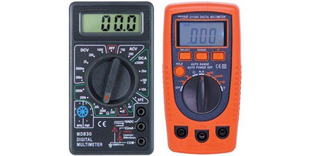 Cara menggunakan multimeter: periksa diod atau rantai