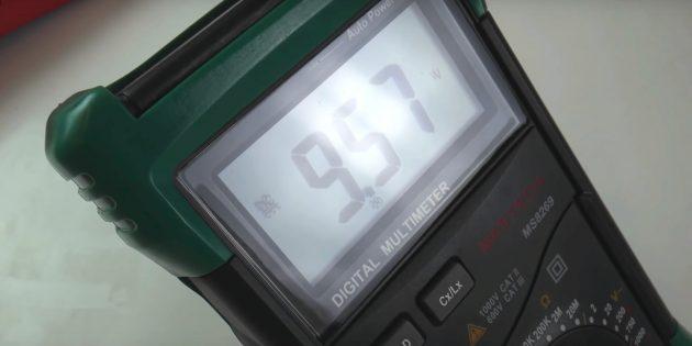 Нұсқаулықта мультиметр кезінде өлшеу диапазонын реттеу үшін қолданылуы мүмкін