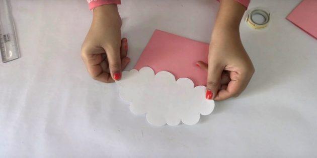 Biglietto di auguri per il compleanno con le tue mani: Get Cloud