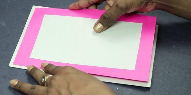 บัตรอวยพรมือของคุณ: สร้างพื้นฐานของโปสการ์ด
