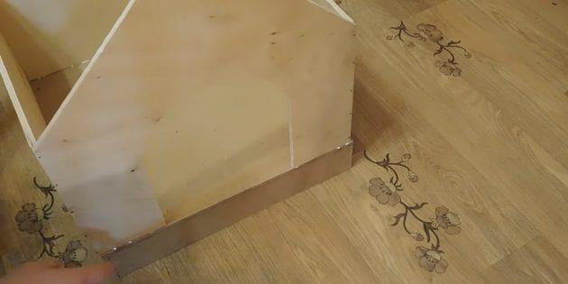 Hus til katten gør det selv: Hold væggene til bunden