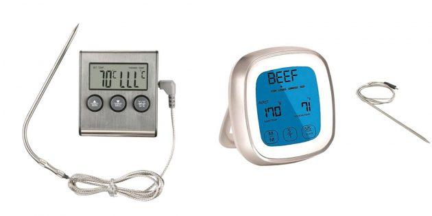 Анамның туған күніне не беруім керек: ас үйге арналған сандық термометр