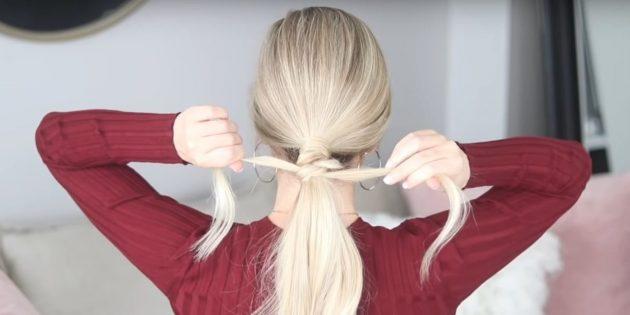 Причёски на длинные волосы: завяжите ещё один узел