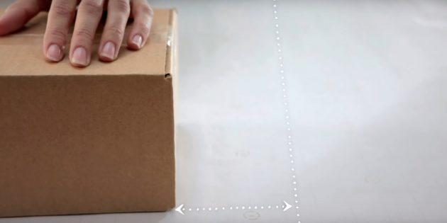 Разрежьте бумагу