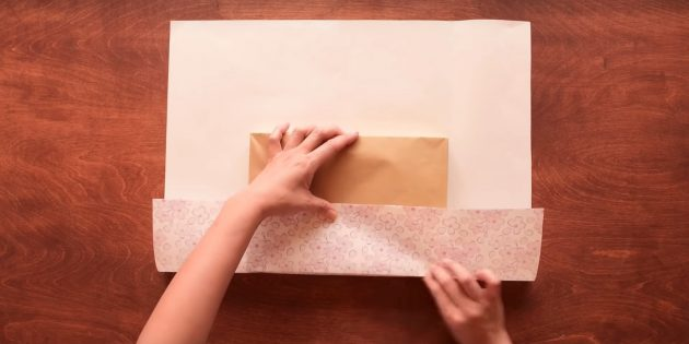 สร้างกระดาษขอบด้านล่าง