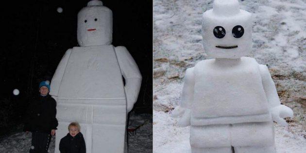 雪数字自己做到了:乐高人