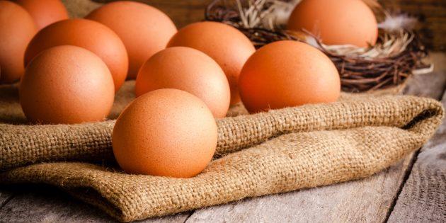 Как уменьшить стресс при помощи питания: яйца