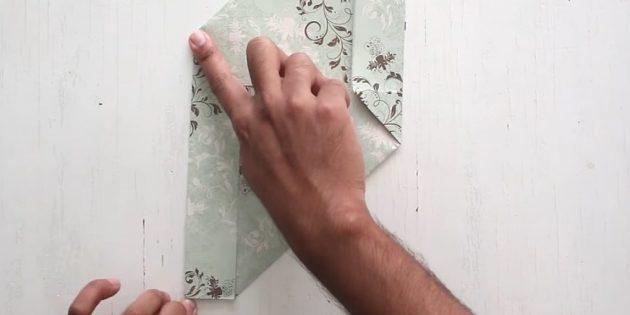 Bir Zarf Nasıl Yapılır: Sol Kesim Oluştur