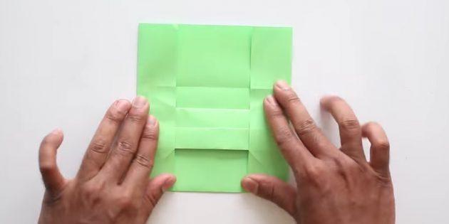 Tutkalsız ellerinizle zarf: Yan taraflar oluşturun