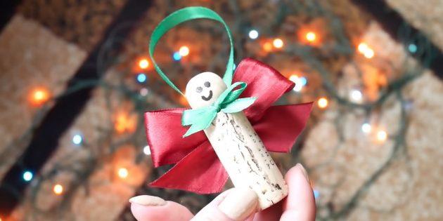 Julverktyg från vinkorkar