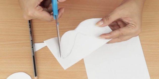 открытки на новый год своими руками: сделайте усы