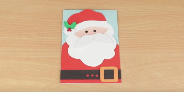 کارت سال نو با بابا نوئل