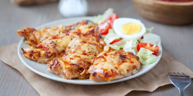 Kanafilee juusto ja tomaatit: Yksinkertainen resepti