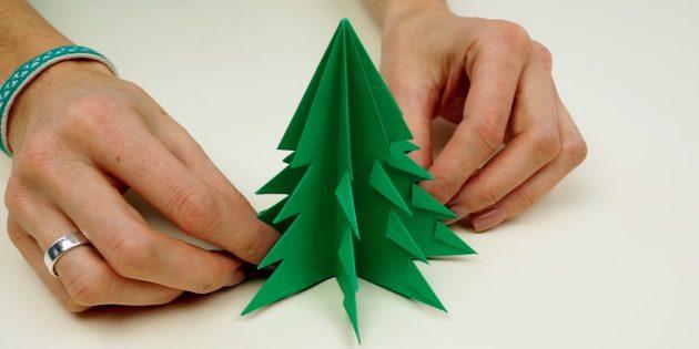 Como fazer uma árvore de papel com suas próprias mãos