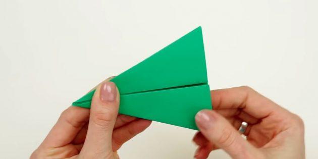 Árvore de Natal com suas próprias mãos: Faça um triângulo