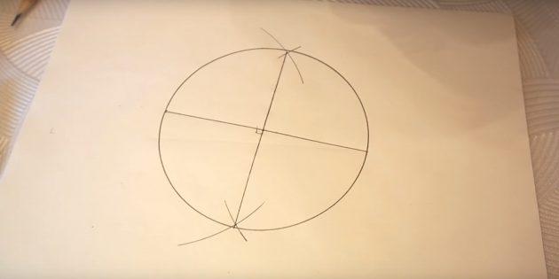 5 점을 그리는 방법 : 원을 그려라.