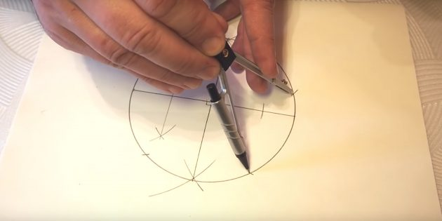 5 점을 그리는 방법 : 바닥에 점을 만드십시오.