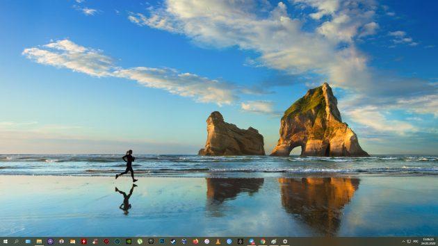 วิธีสร้างภาพหน้าจอบน Windows 10: Win + Pratsc