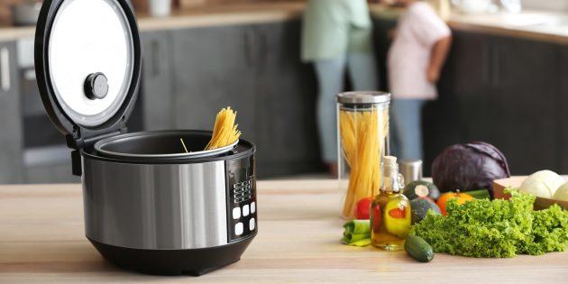 كيفية طهي السباغيتي في طباخ بطيء