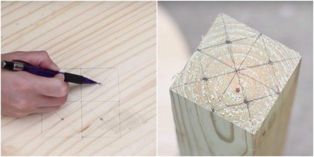 Hoe een Bratechka te maken: zet de markeringen op de boom