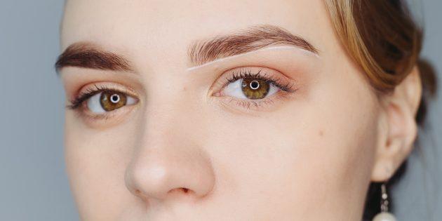 কিভাবে সুন্দর eyebrows করতে: নিম্ন চোখের contours আঁকা