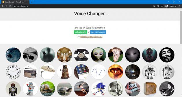 Voice Rediger Online: Voice Changer