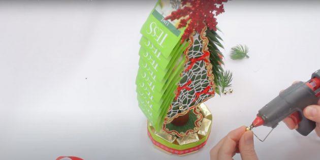 Жаңа жылдық сыйлықтар мұны өзіңіз жасайды: шай және декор