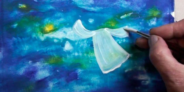 چگونه به رسم فرشته: پوشش بسته بندی سلفون و فریاد
