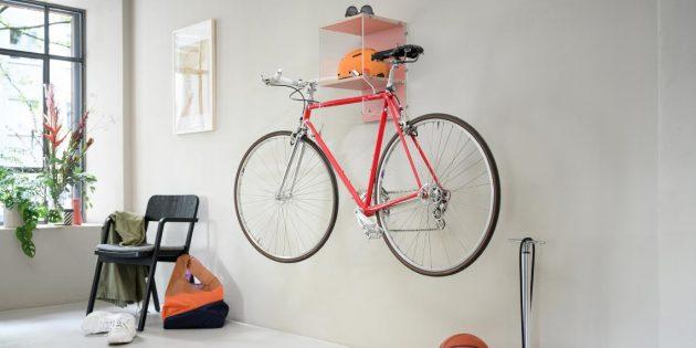 Пайдалы заттар Өзіңіз жасайсыз: велосипедке арналған стильді шкаф