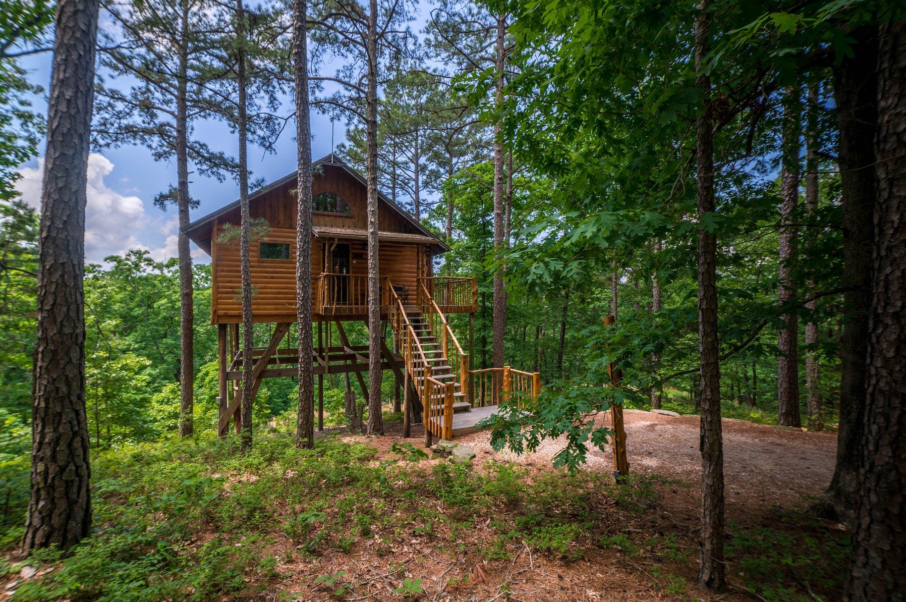 Treehouse Cottages, Arkansas, US