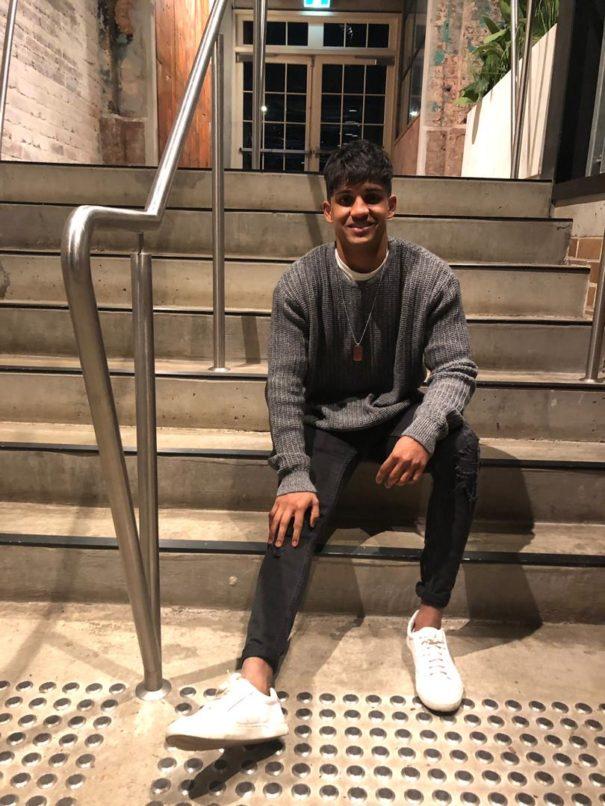 Sunil Chandran in the UK