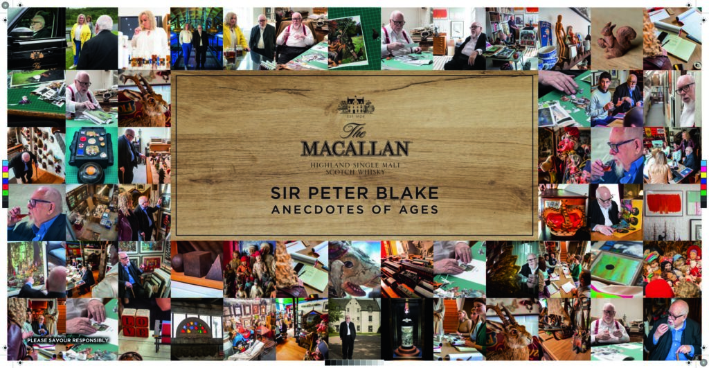 The Macallan The Anecdotes of Ages Collection by Sir Peter Blake