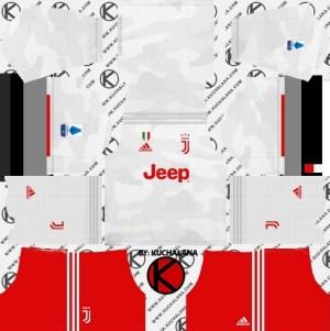 Juventus second kit dream league soccer