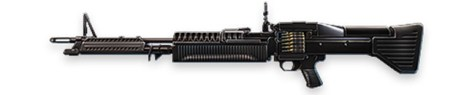 M60 Free Fire Machine Gun