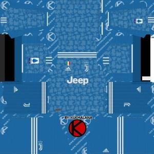 Juventus third kit dream league soccer