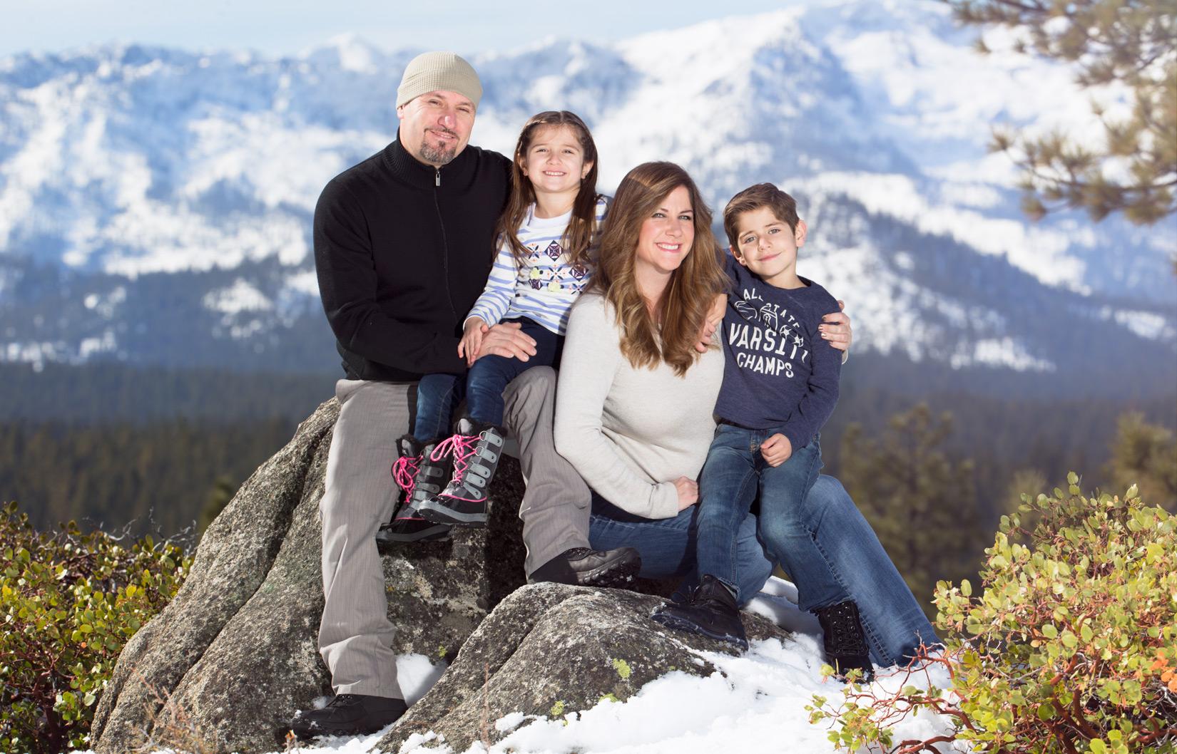 Fall Wedding Lake Tahoe