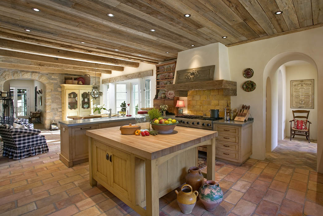Rustic Kitchen  traditional homes  Mosaic Architects   Boulder     Rustic Kitchen