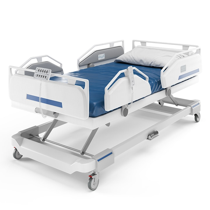 Hospital Beds Adjusted By Advanced Electric Linear Actuators