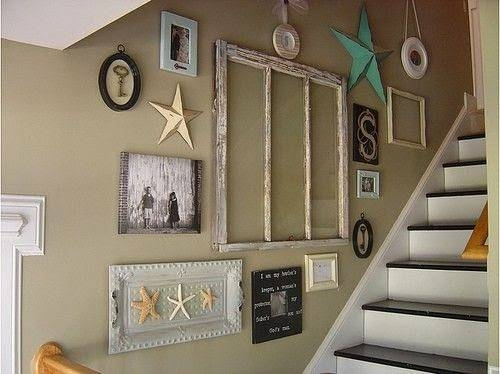 Stunning Stairway Wall Decorating Ideas Ideas Little Big Adventure | Interior Design For Staircase Wall | Side Wall | Cladding | Outside | 2Nd Floor | Under Stair