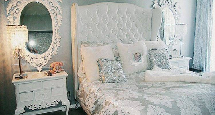 24 Delightful Silver And White Bedroom Little Big Adventure
