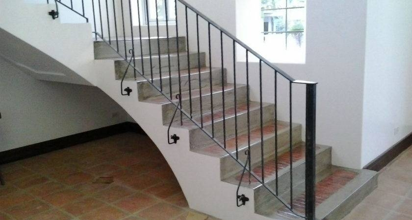 Awesome Simple Stair Railing 18 Pictures Little Big Adventure | Steps Railing Designs With Glass | Terrace Staircase | Tempered Glass | Indoor | Crystal | Small Space