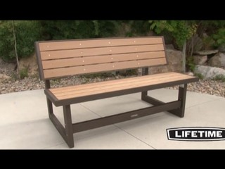 Lifetime Convertible Bench 187 Video Gallery