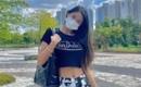 AOA ソリョン、細いウエストをチラ見せ!カジュアルな夏ファッションの近況写真を公開