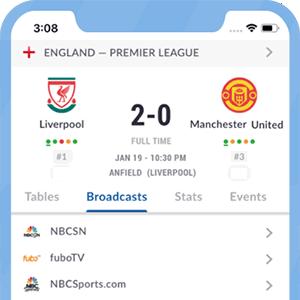 App di Live Soccer TV