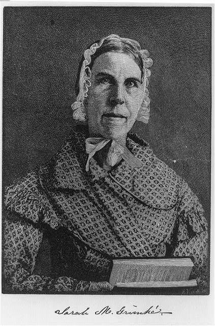 Sarah Moore Grimké (1792-1873)
