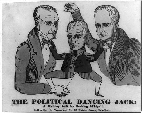 The political dancing Jack: a holiday gift for sucking Whigs!!