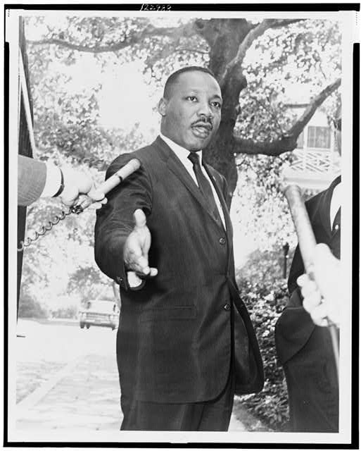 Gracie Mansion, Rev. Martin Luther King press conference