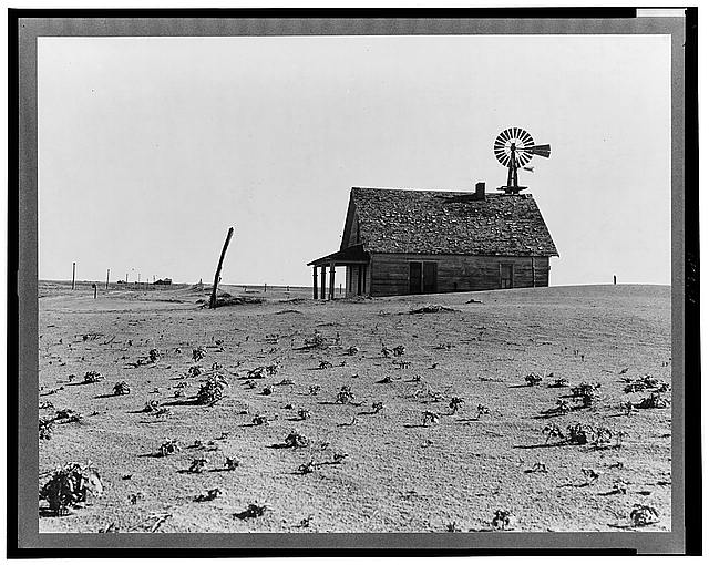 Dustbowl Farm photo by Dorothea Lange